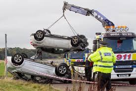 two cars crash into sea at gypsy brae granton edinburgh metro news