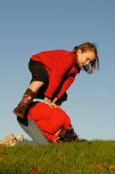 three outdoor pilgrim activity education