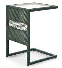 Wicker Outdoor Furniture Ebay by Easy Care Wicker Pull Up Table Patio Side Table Ebay