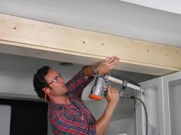 how to wrap a ceiling girder with wood how tos diy