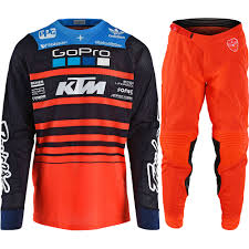 motocross jersey design new troy lee designs 2018 mx se air streamline team ktm tld
