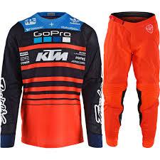 troy lee designs motocross gear new troy lee designs 2018 mx se air streamline team ktm tld
