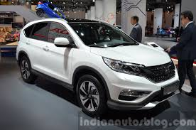 honda crv white india bound honda cr v facelift u2013 motorshow focus