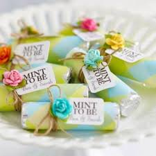 mint to be favors mint to be wedding favors tip junkie
