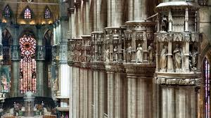 18th october the holy mass live on retequattro duomo di milano