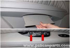 Interior Door Panel Repair Mercedes W211 Rear Door Panel Replacement 2003 2009 E320