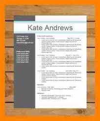 modern resume template word 2017 4 modern resume template word new hope stream wood
