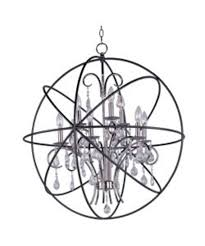 Gallery 74 Chandelier La1268 Large Sphere Chandelier Multiple Colors By Cdi Furniture