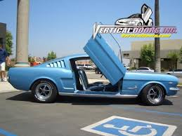 1966 ford mustang kits 1964 1 2 1966 mustang vertical door kit system direct bolt on