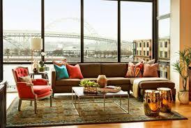 garrison hullinger interior design creates chic condo interior design