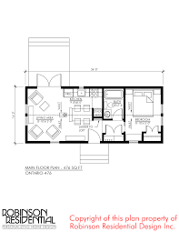 home plans ontario this is the 476 sq ft ontario tiny house plan by robinson
