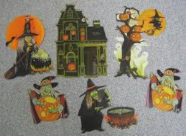 vintage paper halloween decorations photo album vintage halloween