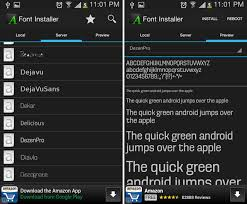 android font 4 ways to change your android fonts
