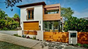 contemporary house exterior features