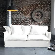 canap tissu blanc canape tissu blanc grand canap droit outy blanc et gris clair 4