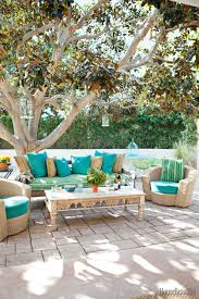 Farmhouse Patio Furniture Backyard Patio Furniture Ideas Attract The Birds With Backyard