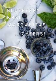 blueberry margarita blueberry basil margaritas for the win darling be daring