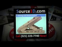 Mounting Brackets For Awnings Awning Roof Mount Bracket Youtube