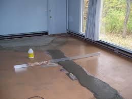 leveling an uneven concrete floor marvelous for floor home
