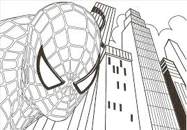 extraordinary spiderman coloring pages printable snapshot