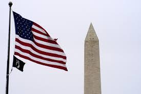 Washington Dc Flag File Us Navy 050308 N 0295m 003 The American And Pow Mia Flags