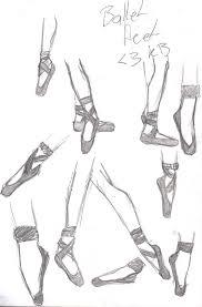 ballet feet sketch by kerry483 on deviantart