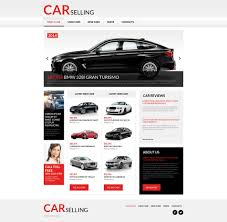 car rental moto cms html template 53633
