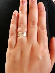 my wedding ring my wedding ring has arrived i m so excited it s two interlocking
