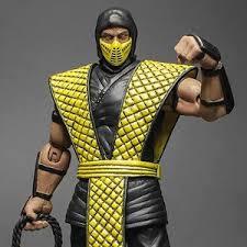 Mortal Kombat Scorpion Halloween Costume Mortal Kombat 1 12 Series Classic Scorpion Fashion Doll