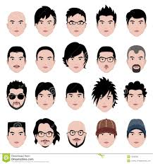 Mens Hairstyle By Face Shape by Man Male Face Head Hair Hairstyle Royalty Free Stock Image Image