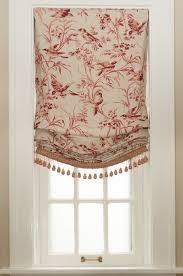 Tassels For Drapes Window Treatment Roman Shade Relaxed Roman Shade Shades London