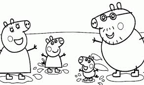 free coloring pages peppa pig coloring pages ideas