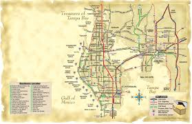 Clearwater Beach Florida Map by Infoguidesusa Pinellas County Florida