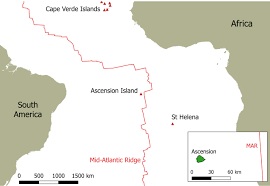 ascension islands map the geology of ascension island ascension island volcanology