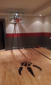 total home interior solutions hardwood basketball court in the basement total sport solutions