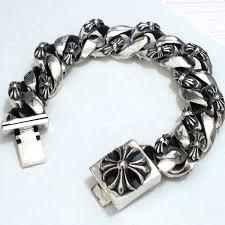 hearts bracelet images Chrome hearts bracelet floral cross id chrome hearts jpg