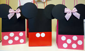 mickey mouse favor bags diy mickey minnie mouse goody bags the chronicles