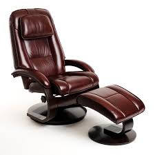Small Leather Chair And Ottoman Simple Recliner Chair With Ottoman On Small Home Remodel Ideas