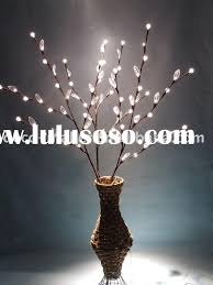 Branch Christmas Tree With Lights - tree branch with lights interior decor picture