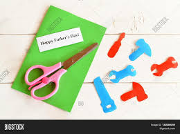 paper tools scissors set greeting image u0026 photo bigstock