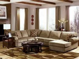 Home Decor Stores Las Vegas Furniture White Leather Sectional Sofa Using Curved Arm Rest On
