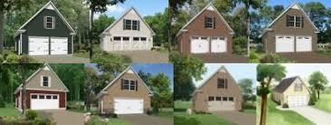 Garage Loft Plans Custom Garage Plans With Loft Storage And Apartment Space