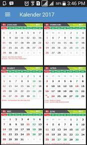 Kalender 2018 Hari Libur Indonesia Kalender 2017 Libur Nasional 2 1 3 Apk Android