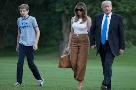 Donald Trump Homes by Melania U0026 Barron Trump Finally Move Into The White House