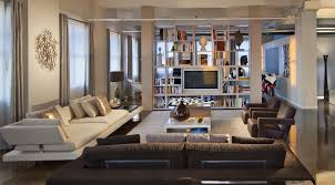 Loft Style Living Room Interior Design New York Style Cool Apartment Interior Design Nyc