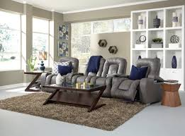 Sectional Sofas With Recliners And Cup Holders Home Theater Seating Be Seated Leather Furniture Michigan