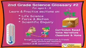 Science Worksheet 2nd Grade Science Glossary 2 Learn And Practice Worksheets For