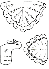 printable thanksgiving crafts turkey coloring cutouts for kids thanksgiving turkey crafts