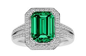 emerald jewelry rings images Colombian emerald cocktail ring port shopping spree png