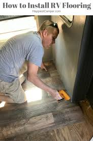 How To Level A Floor Before Installing Hardwood How To Install Rv Flooring U2013 Happiest Camper